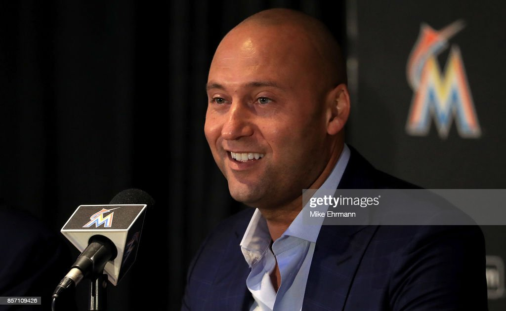 Miami Marlins Press Conference : News Photo