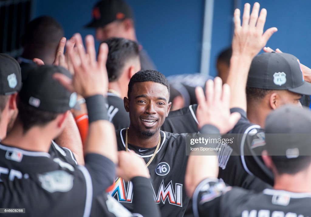 MLB: MAR 01 Spring Training - Marlins at Astros : News Photo