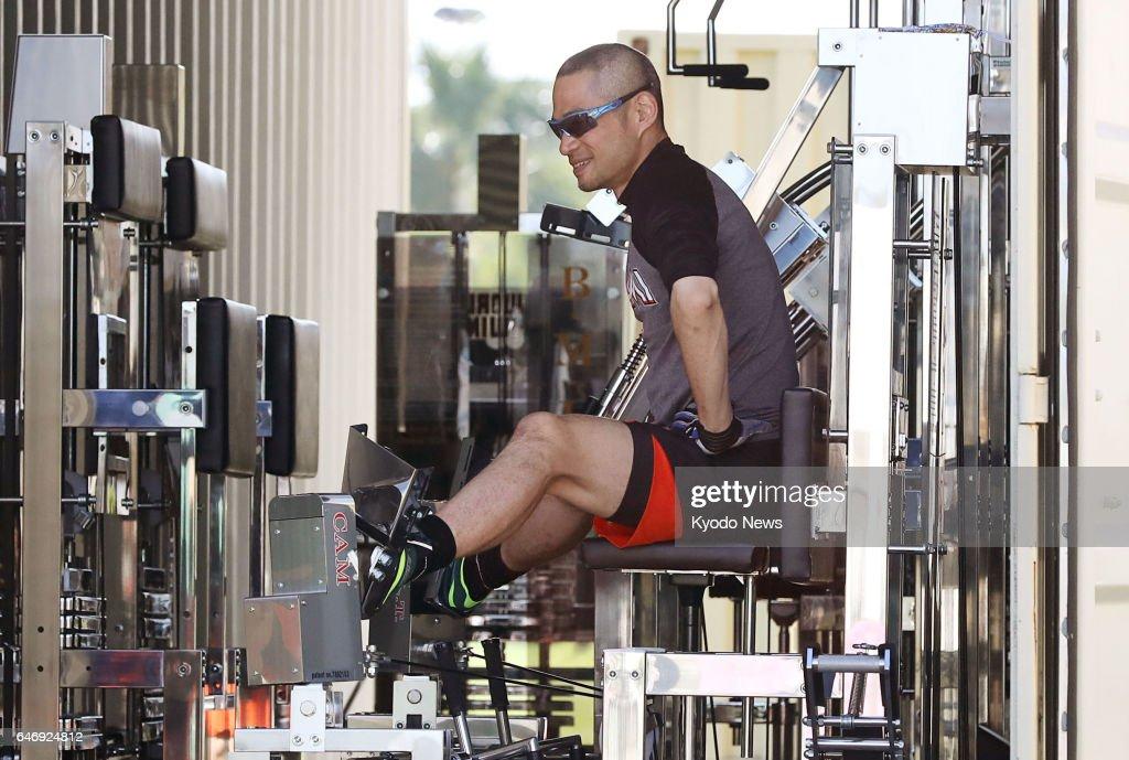 Baseball: Ichiro working on personalized training program Pictures