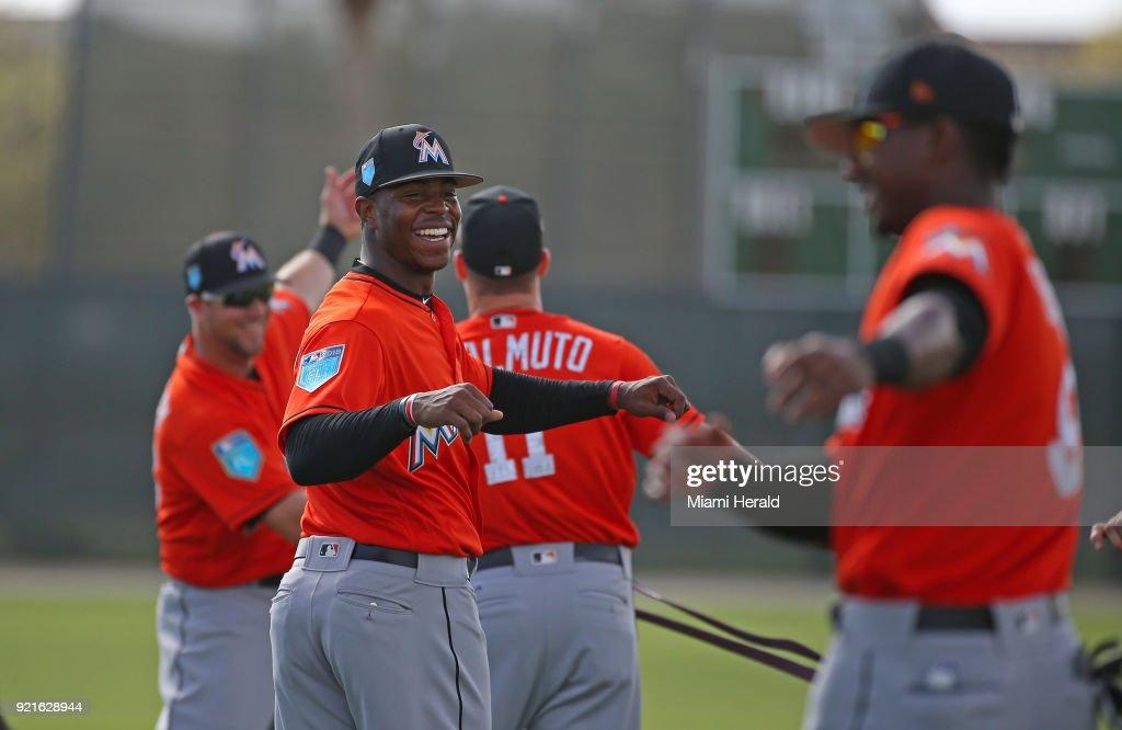 Miami Marlins spring training 2018 : Foto di attualità