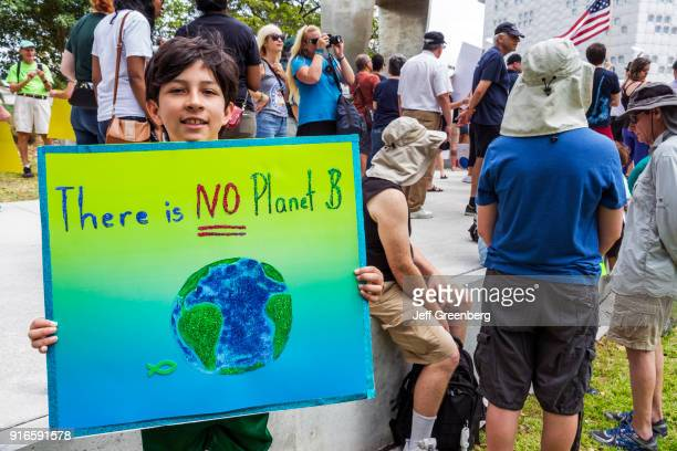 Miami Museum Park March for Science No Plan B Climate Change Supporter
