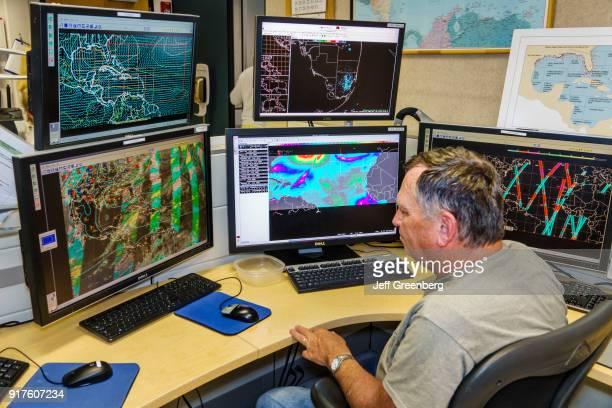 Miami National Hurricane Center Satellite Storm Tracking Maps