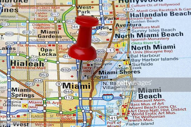 Miami on a Map
