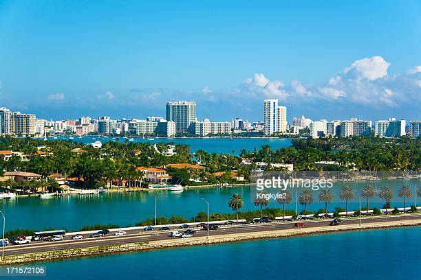 miami - south stock pictures, royalty-free photos & images