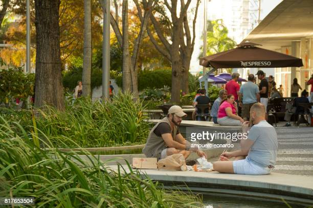 miami - lincoln road stock pictures, royalty-free photos & images