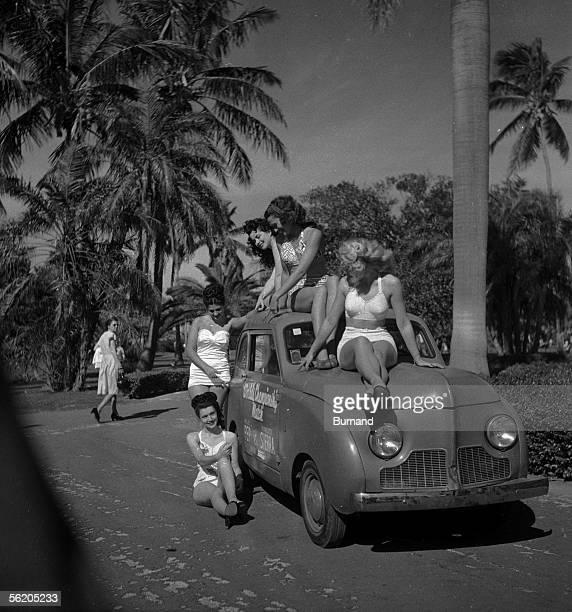 Miami Pinup girls 1948
