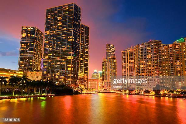 Miami Red river at Brickell Key
