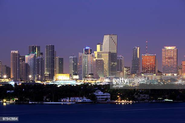 Miami Skyline, Florida