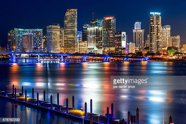 Miami Skyline, Miami, Florida, America