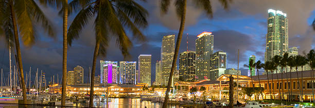 Miami skyline,Florida, USA