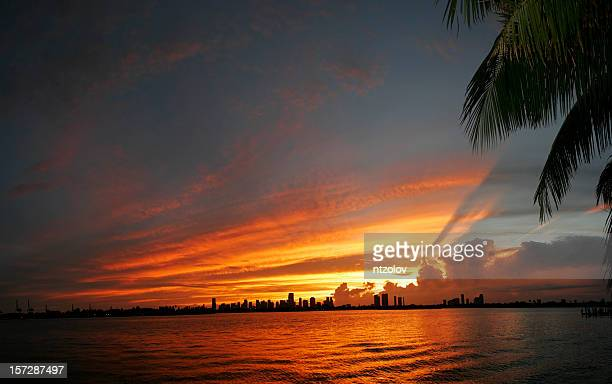Sonnenuntergang in Miami