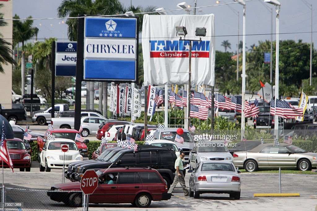 A Man Walks In A Vehicle Lot At A Local Pictures Getty Images - The nearest chrysler dealership