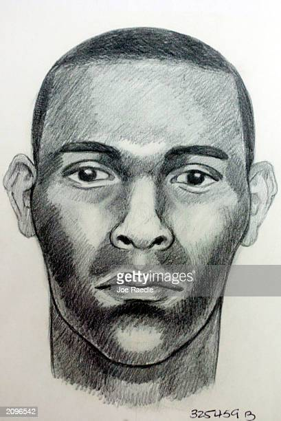 MiamiDade County Police sketch shows a suspect wanted in at least four rapes and a home invasion since March 31 June 19 2003 in Miami Florida...