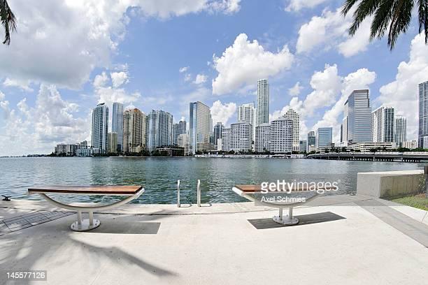 Miami's Brickell financial district