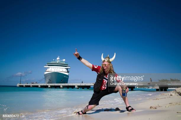 Miami/Turks Caicos Islands JANUARY 2831 Onboard the cruise liner 'Majesty of the Seas' during the '70000 Tons of Metal Tour'