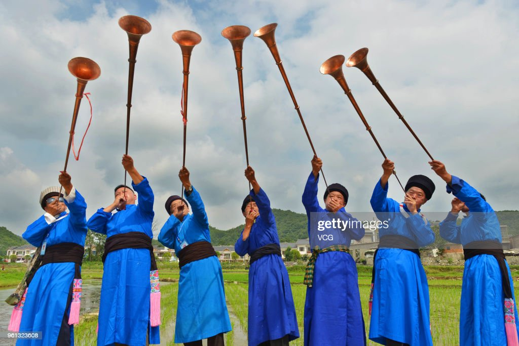 Miao People Celebrates Folk Festival In Anshun