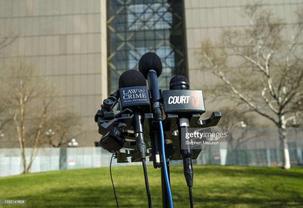 Derek Chauvin Murder Trial For Death Of George Floyd Continues In Minneapolis : News Photo
