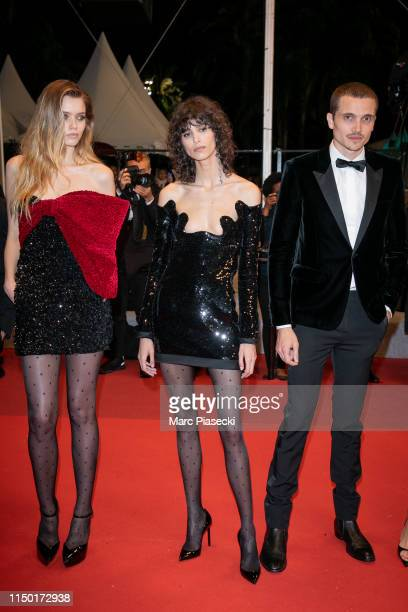 """Mica Arganaraz, Abby Lee and Karl Glusman attend the screening of """"Lux Aetterna"""" during the 72nd annual Cannes Film Festival on May 18, 2019 in..."""