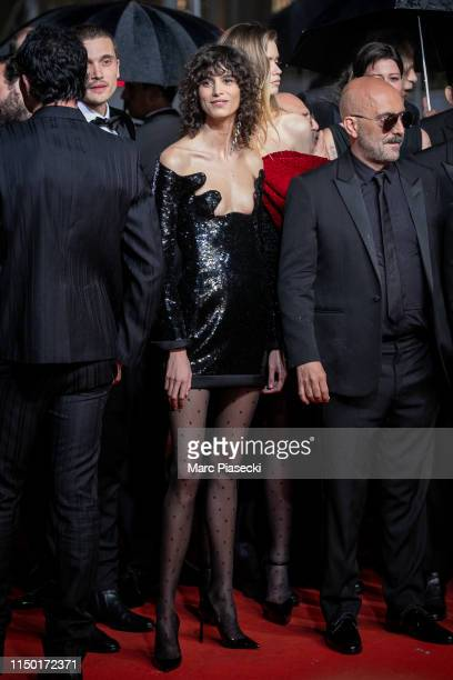 """Mica Arganaraz attends the screening of """"Lux Aetterna"""" during the 72nd annual Cannes Film Festival on May 18, 2019 in Cannes, France."""