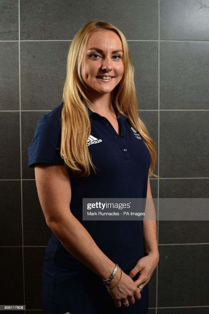 Mica McNeill during the PyeongChang 2018 Olympic Winter Games photocall at Heriot Watt University, Oriam.