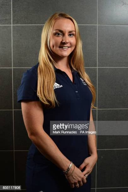 Mica McNeill during the PyeongChang 2018 Olympic Winter Games photocall at Heriot Watt University Oriam