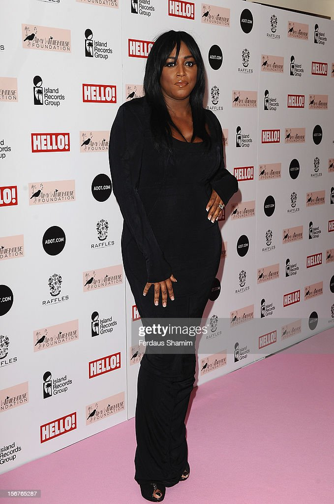 Mica Paris attends The Amy Winehouse Foundation Ball on November 20, 2012 in London, England.