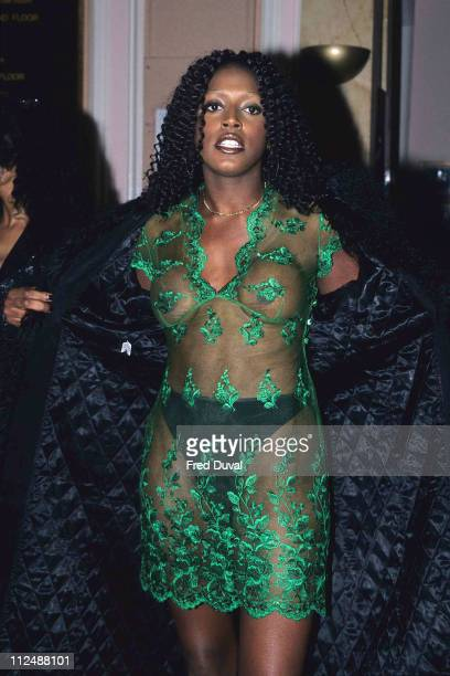 Mica Paris during 1998 MOBO Awards at New Connaught Rooms in London United Kingdom