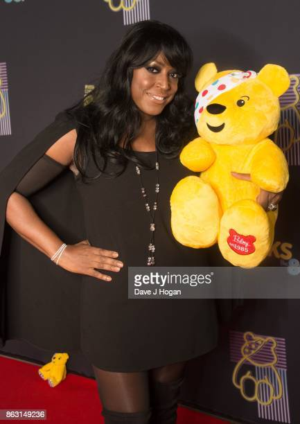 Mica Paris is pictured at BBC Children in Need Rocks the 80s at SSE Arena on October 19, 2017 in London, England.