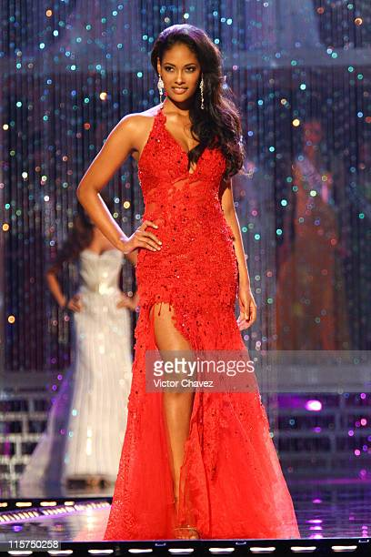 Micaela Reis Miss Universe Angola 2007 during Miss Universe 2007 Show at Auditorio Nacional in Mexico City Mexico City Mexico