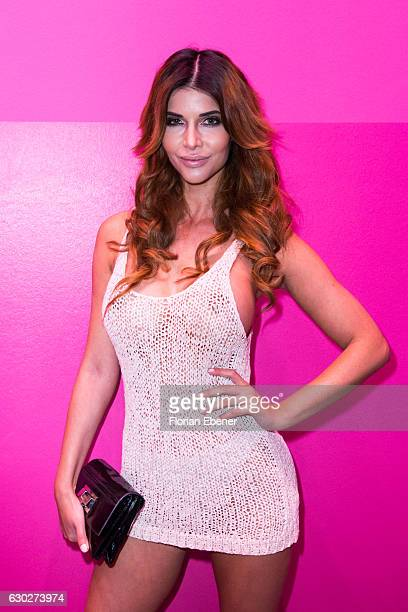 Micaela Schaefer attends the Charity Red Carpet Dinner by Sarah Joelle Jahnel on December 19, 2016 in Cologne, Germany.