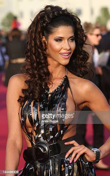 Micaela Schaefer attends the 'Men In Black 3' Germany Premiere at O2 World on May 14, 2012 in Berlin, Germany.