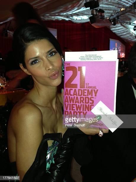 Micaela Schäfer bei 21 AidsHilfeParty Los Angeles Kalifornien USA Amerika Hollywood Kussmund Model RTLDschungelcampNackte Platz 4 ExPro7Germanys next...