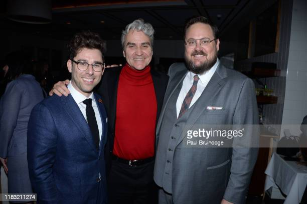 Micah FizermanBlue Tom Junod and Noah Harpster attend New York Special Screening Of A Beautiful Day In The Neighborhood After Party at Le District...