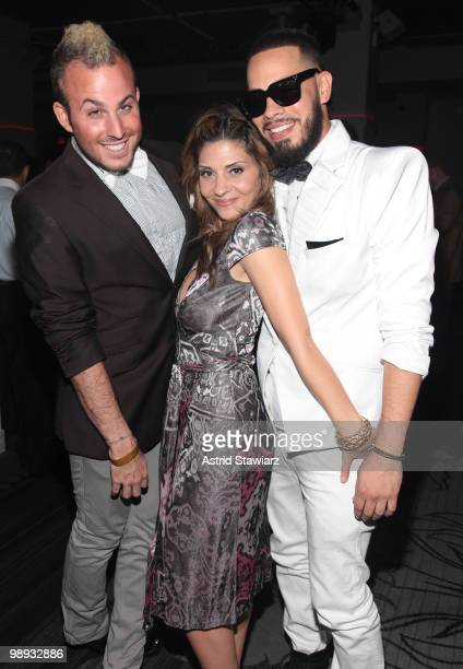 Micah Jesse, actress Callie Thorne and Leo Velasquez attend Prom: Class of 2010 at Espace on May 8, 2010 in New York City.