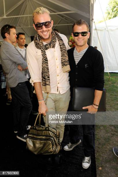 Micah Jesse and Justin Keperman attend Cynthia Rowley Summer/Spring 2011 Reception With Johnson Johnson at Cooper Hewitt Museum on September 11 2010...