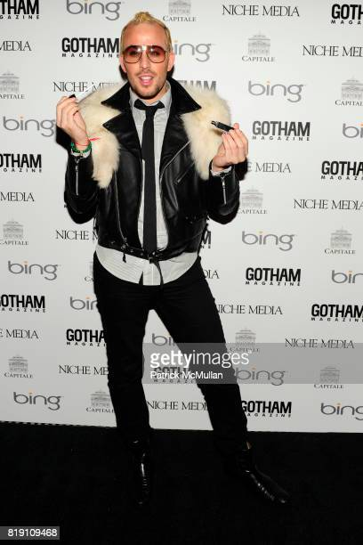 Micah Jesse attends ALICIA KEYS Hosts GOTHAM MAGAZINES Annual Gala Presented by BING at Capitale on March 15 2010 in New York City