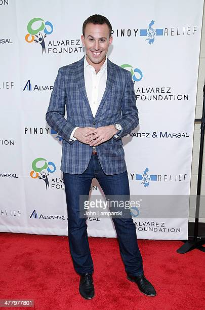 Micah Jesse attends the Pinoy Relief Benefit concert at Madison Square Garden on March 11, 2014 in New York City.