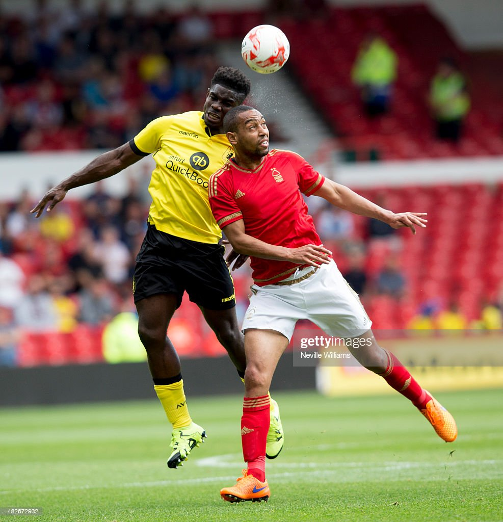 Micah Richards of Aston Villa during the pre season friendly match between Nottingham Forest and Aston Villa at the City Ground on August 01, 2015 in Nottingham, England.