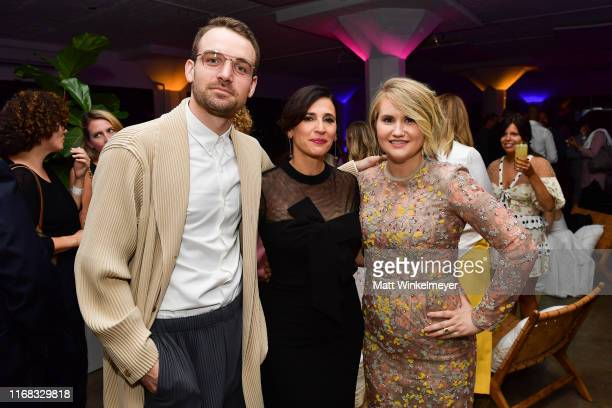 Micah Stock Michaela Watkins and Jillian Bell attend the premiere of Amazon Studios' Brittany Runs A Marathon on August 15 2019 in Los Angeles...