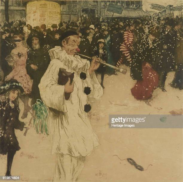 MiCarême au Carnaval de Paris 1909 Private CollectionFine Art Images/Heritage Images/Getty Images