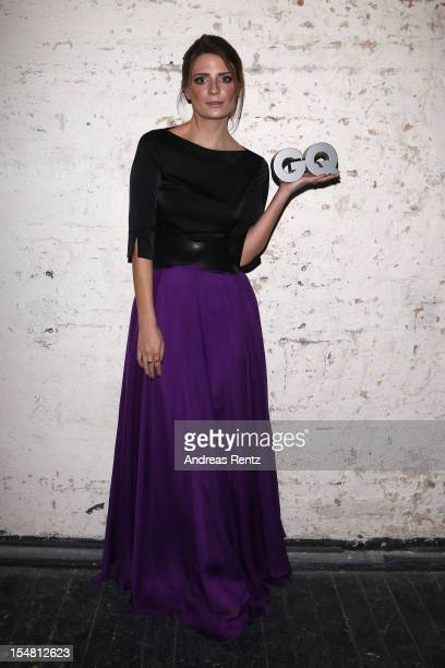 Micha Barton attends the GQ Men of the Year Award at Komische Oper on October 26 2012 in Berlin Germany