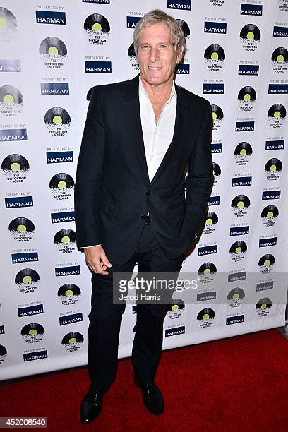 Michae Bolton attends the Los Angeles Premiere of 'The Distortion of Sound' at The GRAMMY Museum on July 10 2014 in Los Angeles California