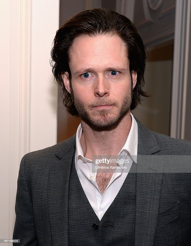 Michael Abbott Jr. attends the after party for The Cinema Society with FIJI Water & Levi's screening of 'Mud' at Harlow on April 21, 2013 in New York City.