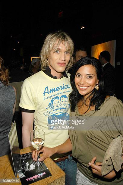 Michael Ackermann and Nichole Shephard attend Madonna Gallerie to Debut at W Hotel Los Angeles at W Hotel on May 16 2006 in New York City