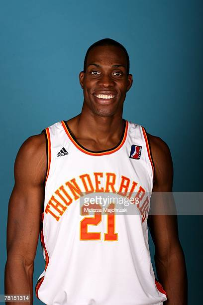 Michael Adams of the Albuquerque Thunderbirds poses for a portrait during DLeague media day on November 13 2007 at the Open Court in Lehi Utah NOTE...
