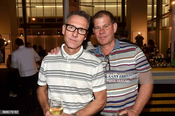 Michael Agrifolio and Kendall Hamersly attend the Unveiling of White Square by Richard Meier Partners at Citigroup Center on December 7 2017 in Miami...