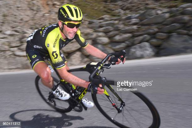 Michael Albasini of Switzerland and Team MitcheltonScott / during the 72nd Tour de Romandie 2018 Stage 4 a 1492km stage from Sion to Sion on April 28...