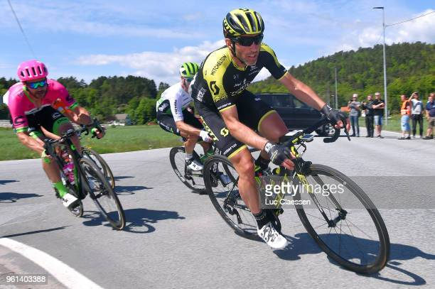 Michael Albasini of Switzerland and Team MitcheltonScott / during the 11th Tour des Fjords 2018 Stage 1 a 191km stage from Lindesnes to Grimstad on...