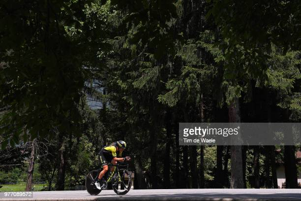 Michael Albasini of Switzerland and Team MitcheltonScott / during the 82nd Tour of Switzerland 2018 Stage 9 a 341km individual time trial stage from...