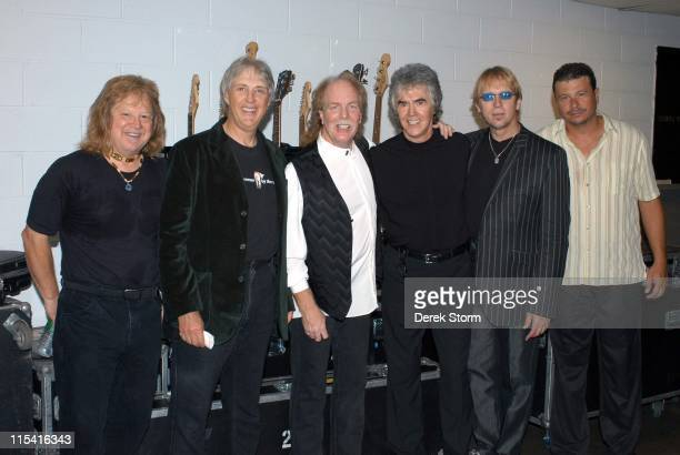 Michael Allsup, Cory Wells, Jimmy Greenspoon, Danny Hutton, Paul Kingery and Pat Bautz of Three Dog Night